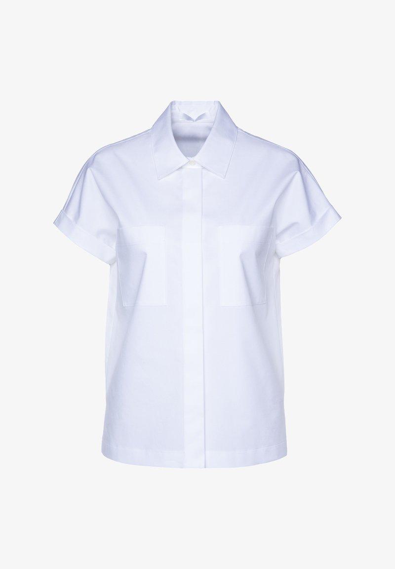 BOSS - Button-down blouse - white