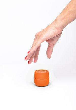 Haut-parleur - orange