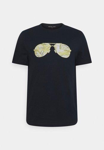 PALM AVIATOR TEE - Print T-shirt - midnight