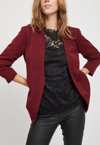 Vila - VIHER  - Blazer - dark red - 3