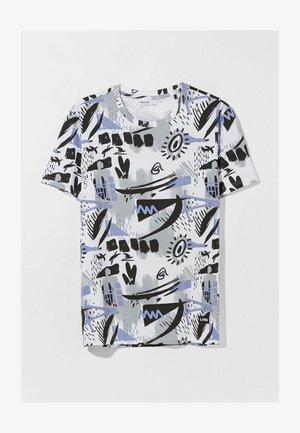 MIT - Print T-shirt - blue