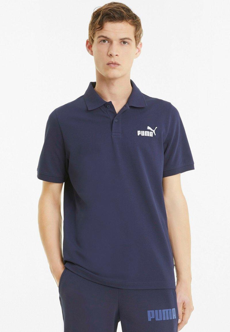 Puma - ESSENTIALS PIQUE  - Polo shirt - peacoat