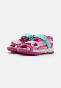 Geox - BOREALIS GIRL - Walking sandals - fuchsia/pink - 1