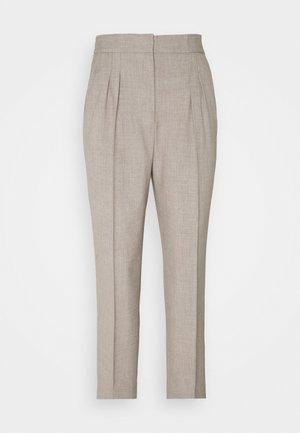 TOKYO STYLISH PANTS - Spodnie materiałowe - beige melange