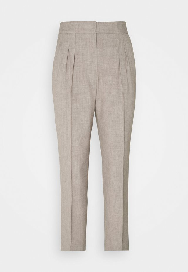 TOKYO STYLISH PANTS - Pantaloni - beige melange