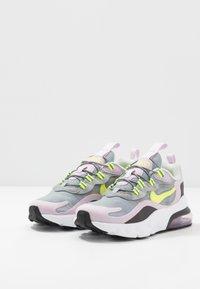 Nike Sportswear - AIR MAX 270 - Sneakersy niskie - particle grey/lemon/iced lilac/off noir - 3
