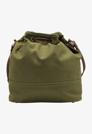 DREIMASTER BEUTELTASCHE - Across body bag - oliv braun