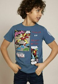 Name it - MARVEL SUPERHERO - Print T-shirt - real teal - 0