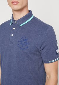 TOM TAILOR - DECORATED  - Poloshirts - bright cosmos blue melange - 3