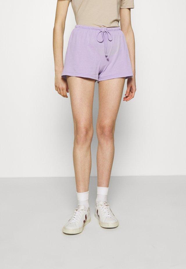VEGIFLOWER - Shorts - parme