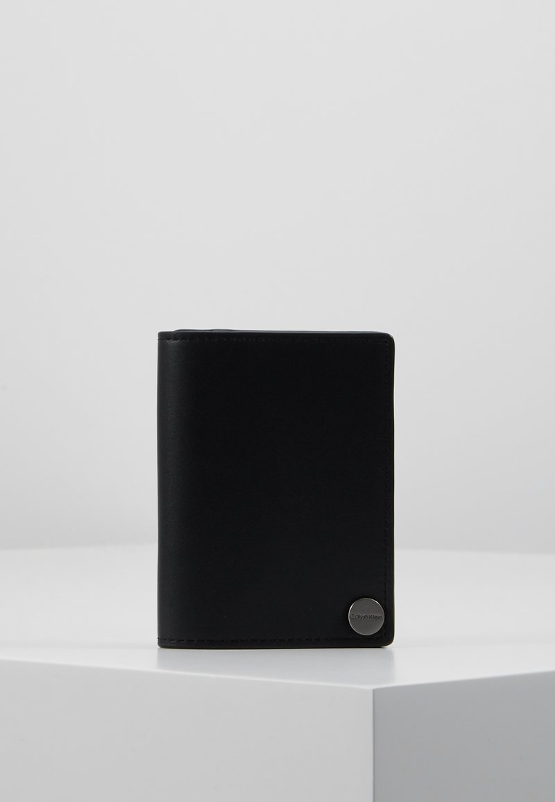 Calvin Klein - TRAVEL CARDHOLDER - Portfel - black