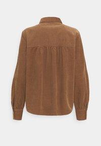 Opus - FERILLA - Button-down blouse - peanut - 1