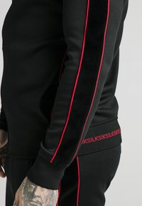 SIKSILK - IMPERIAL ZIP THROUGH FUNNEL NECK - Giacca sportiva - black - 5