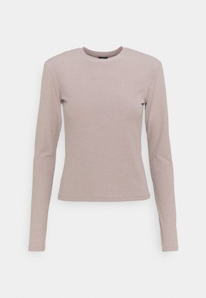 MINNIE - Long sleeved top - beige