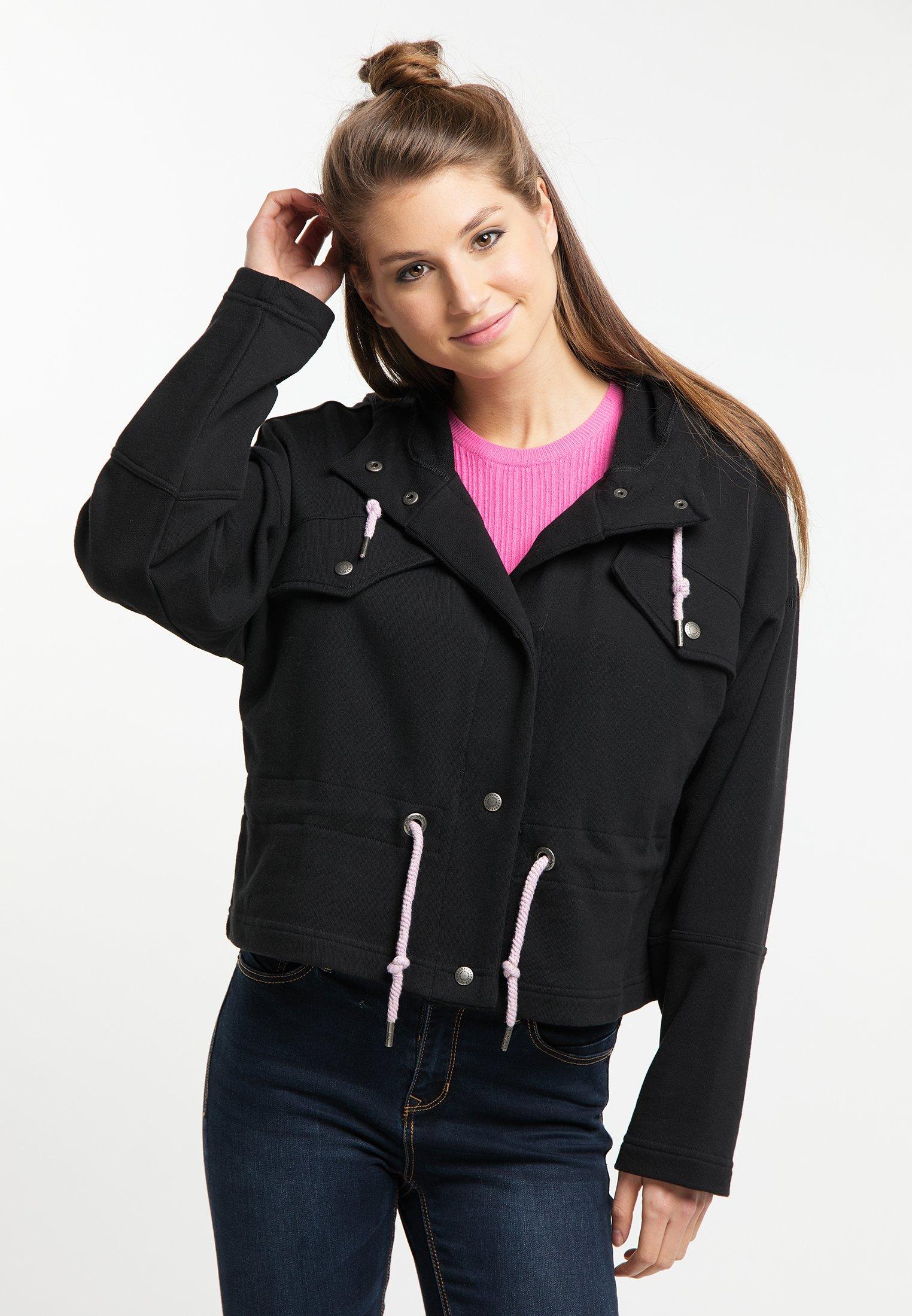 myMo veste en sweat zippée - black - Pulls & Gilets Femme Jyfba