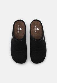 Shepherd - CILLA - Domácí obuv - black - 5