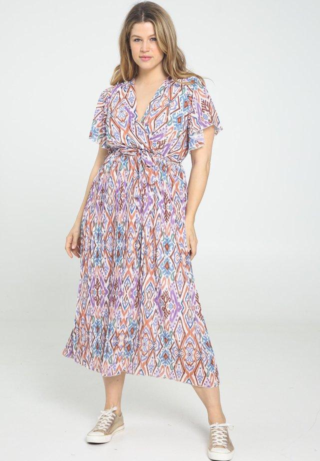 IMPRIMÉ ETHNIQUE - Korte jurk - purple