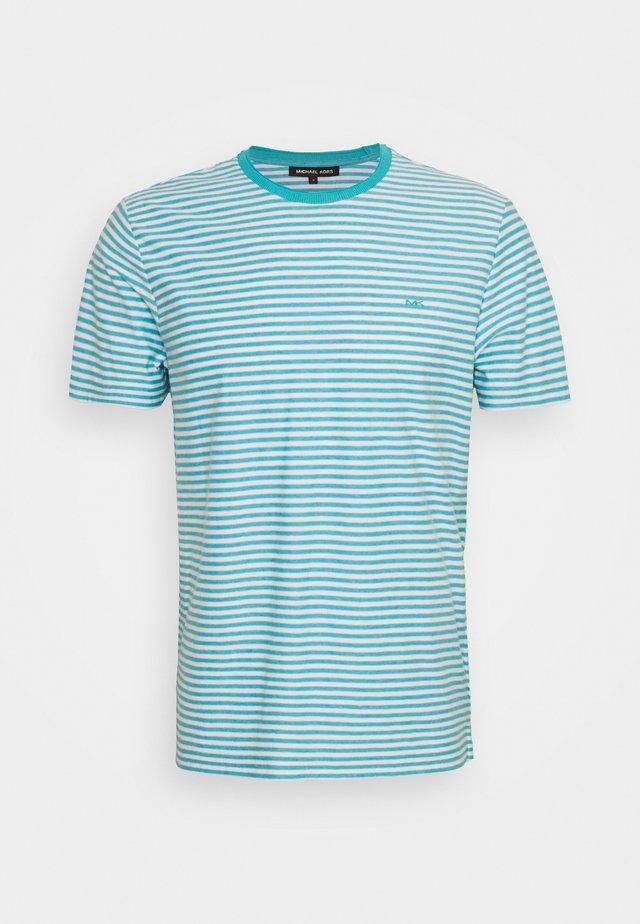FEEDER STRIPE TEE - T-shirts med print - blue heath