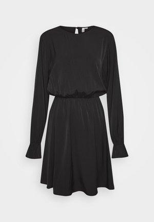 SOFT VOLUME DRESS - Day dress - black