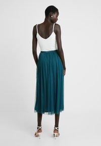 Lace & Beads Tall - MERLIN SKIRT - A-linjekjol - green - 2
