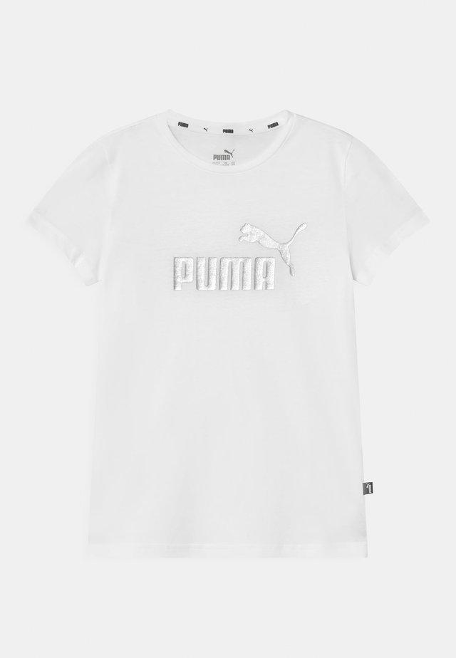 LOGO UNISEX - T-Shirt print - puma white