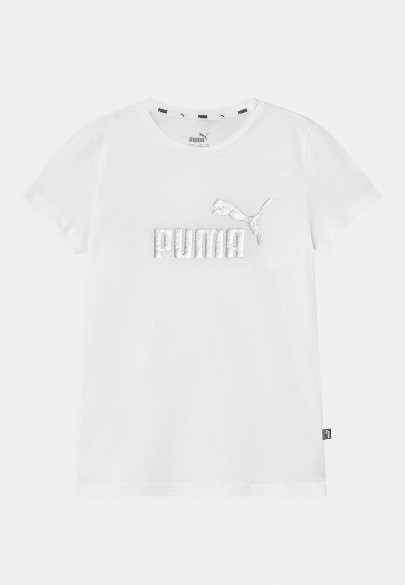 Puma - LOGO UNISEX - Print T-shirt - puma white