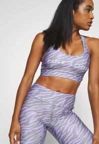 Pink Soda - ZEBRA BRA - Medium support sports bra - lilac - 3