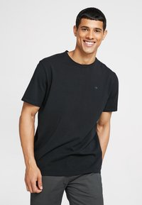 Scotch & Soda - CREW NECK TEE - Basic T-shirt - black - 0