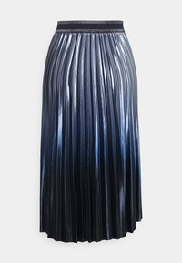 comma casual identity - Plisovaná sukně - blue - 1