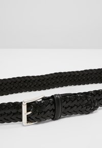Anderson's - WOVEN BELT - Braided belt - black - 3