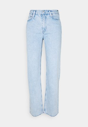 TWIN TROUSERS - Straight leg -farkut - summer blue