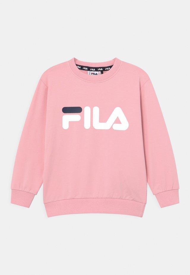 TIM LOGO CREW UNISEX - Sweatshirt - coral blush