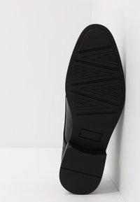 Pier One - Stringate eleganti - black - 4