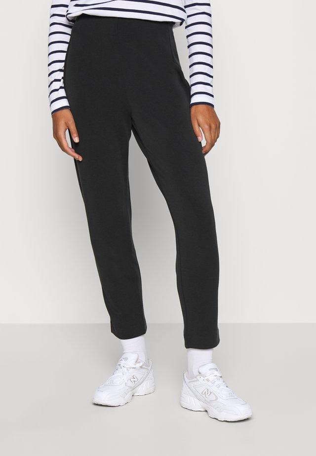 SLFTENNY ANKLE PANT - Bukse - black