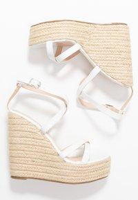 BEBO - FARRAH - Sandaler med høye hæler - white - 3