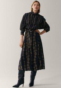 Massimo Dutti - Shirt dress - multi-coloured - 1