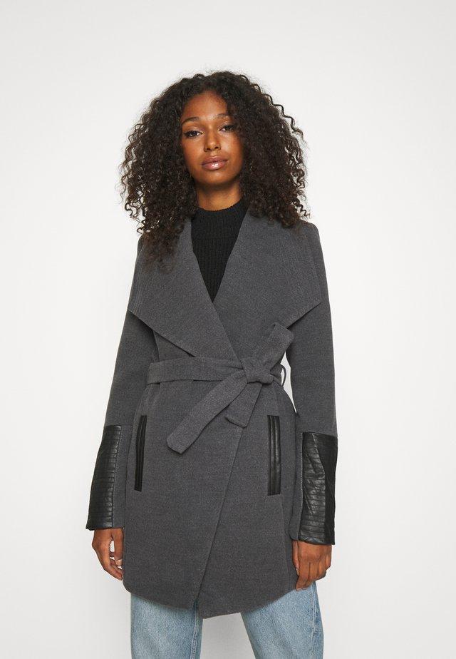 VMCALA JACKET - Zimní kabát - dark grey melange