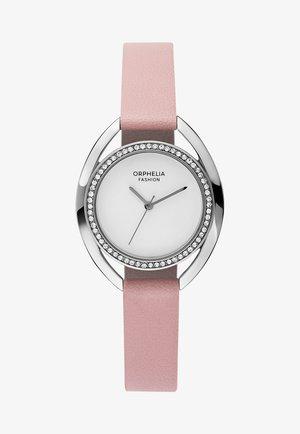 MINUIT - Horloge - pink/silver