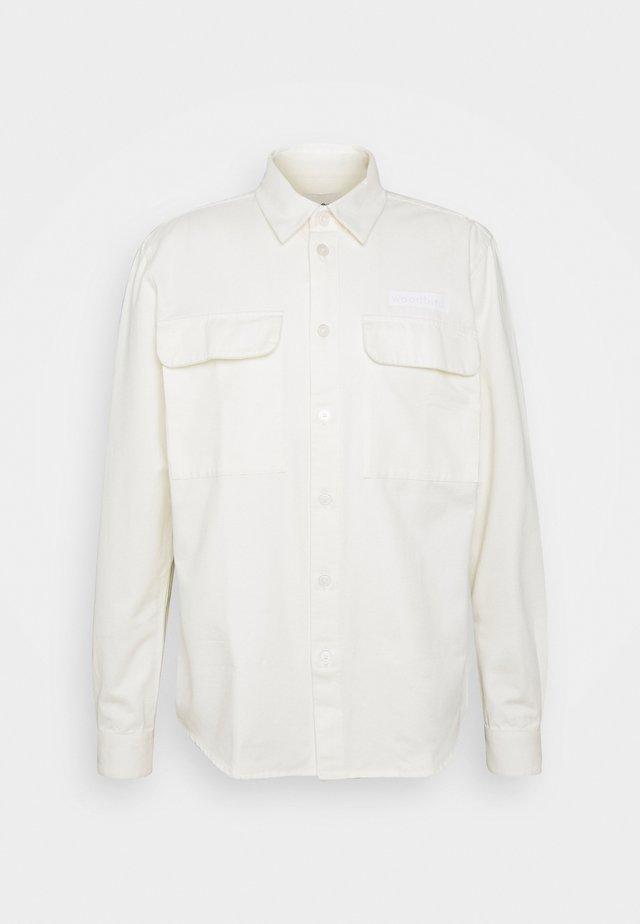 HOXEN WORK SHIRT - Overhemd - off white