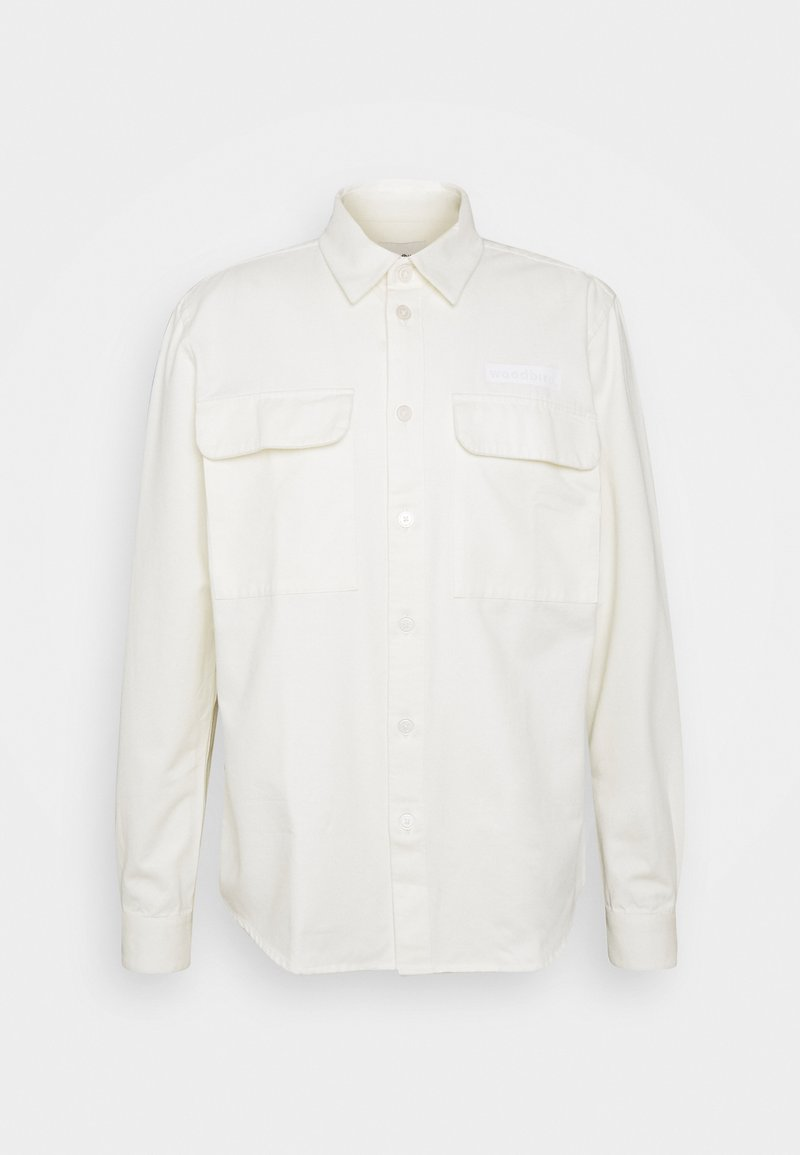 Woodbird - HOXEN WORK SHIRT - Skjorta - off white