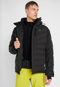 Salomon - ICETOWN JACKET - Snowboardjakke - black - 5