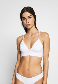 ONLY - ONLHOLLY 2 PACK - Bikini top - black/bright white - 3