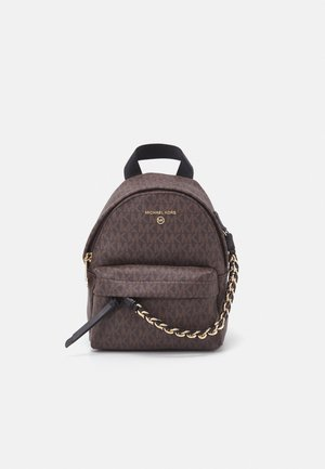 SLATERXS BACKPACK - Reppu - brown/black