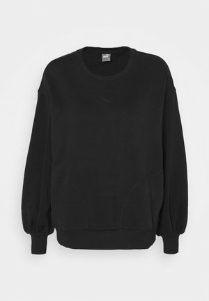 HER CREW - Sweatshirt - black