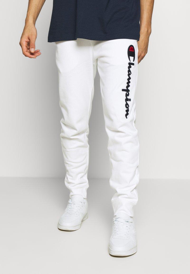 Champion - ROCHESTER CUFF PANTS - Spodnie treningowe - white