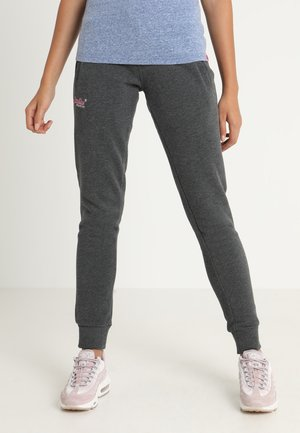 ORANGE LABEL - Tracksuit bottoms - foggy charcoal