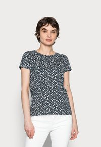 Springfield - ABULLONAD - Print T-shirt - medium blue - 0
