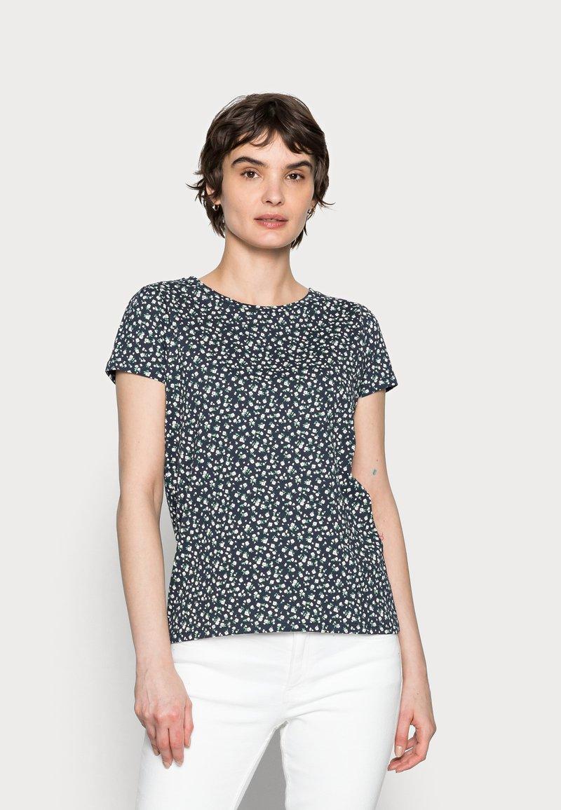 Springfield - ABULLONAD - Print T-shirt - medium blue