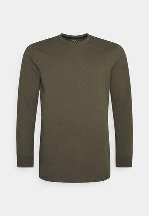 WORLDWIDE BACK PRINT - Long sleeved top - khaki