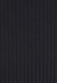 Even&Odd - Basic ribbed midi high waisted skirt - Pencil skirt - black - 2